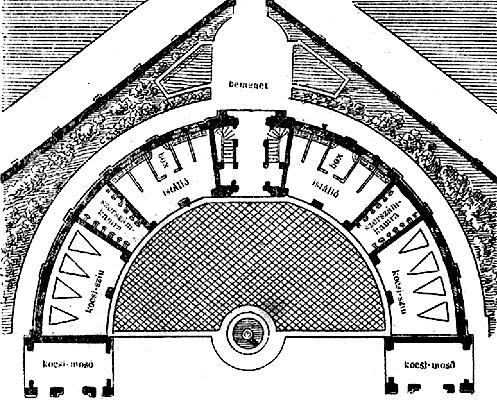 7c4052af7e [ÁBRA] 2. ábra. Istálló-épület a neuflize-i kastélyban.