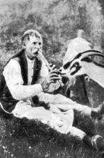 Furulyázó kecskepásztor (Váralja, Tolna m.)