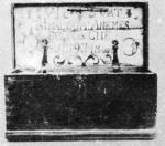 Kézdivásárhelyi fazekas cégláda (v. Háromszék m., 1819)