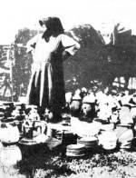 Edényvásár Debrecenben az 1930-as években