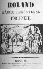 Különböző ponyvanyomtatványok címlapjai a 19. sz.-ból