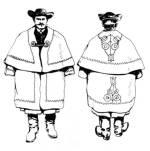 Körgalléros kocsiszűr (Dunántúl, századforduló)