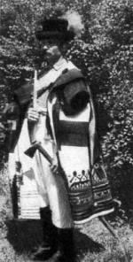Szűrbe öltözött kanász (Rekonstrukció) (Bakony, 20. sz. első fele)