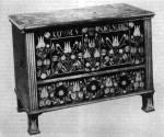 Tulipános láda (Fadd, Tolna m., 1882) Bp. Néprajzi Múzeum