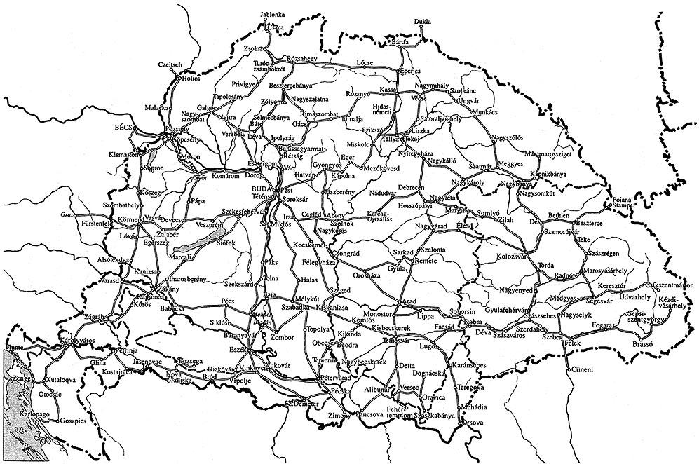 magyarország térkép 1800 as évek Magyar Néprajz II. Gazdálkodás / HÍRADÁS, KÖZLEKEDÉS, SZÁLLÍTÁS magyarország térkép 1800 as évek