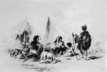 10. Cigányok. Rézkarc, 1800 körül (MNM)