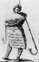 16. Életkép (dudás). I. J. Exs rézkarca, 19. század (MNM)