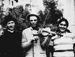 22. Széki (volt Szolnok-Doboka megye) cigányzenész. Halmos Béla felvétele, 1978