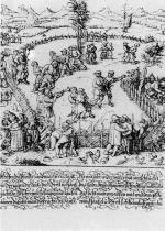 40. D. Hopfer: Német falusi ünnep, 16. század (Otke, H.: