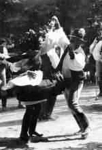 43. Marosszéki forgatós, Nyárádmagyarós (volt Maros-Torda megye). Szabó Jenő felvétele, 1969
