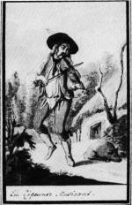 6. Cigányzenész, 18. század (MNM)