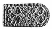 A kunszentmártoni ötvös sírjának préselőmintája