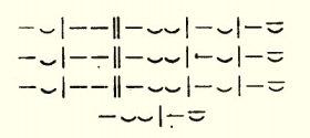 Szapphói strófa