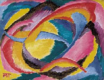 Máttis Teutsch János: Kompozíció (1919 körül)
